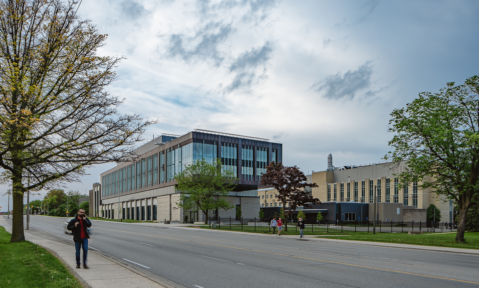 Approaching the Amit Chakma Engineering Building from south